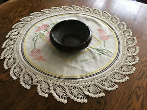 Vintage Arts And Crafts Table Round