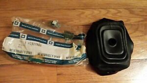 1966 1967 Chevelle El Camino 4 Speed Shifter Boot Upper With Console nos 3907663