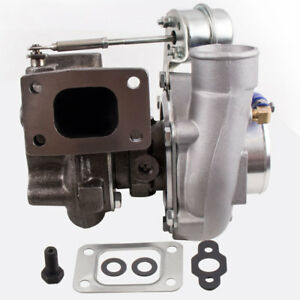 Universal Gt28 Gt2871 0 6 64 A r Turbocharger 350hp Upgrade Water oil Cooled