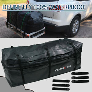48x19x22 Rainproof Luggage Cargo Carrier Bag Weather Resistant Hitch Mounted New