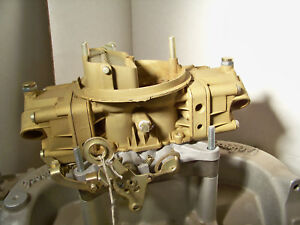 Holley 3310 780 Cfm 7878261 Eh Plated And Rebuilt