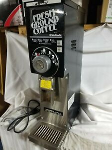 Grindmaster 875 Automatic Gourmet Grocery Coffee Bean Grinder With Tray