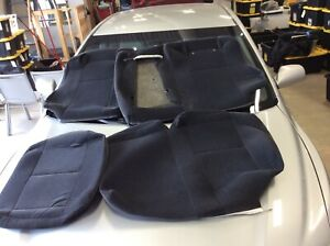 1994 Volvo 940 Wagon Oem Rear Upper And Lower Cloth Seat Cover Sections