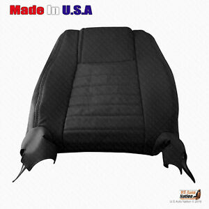 2005 2006 2007 2008 2009 Ford Mustang Passenger Top Perforated Leather Cover Blk