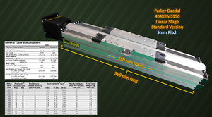 Precision Linear Stage 150mm Travel Fine 5mm Pitch By Parker Daedal