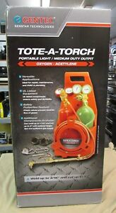 New Gentec 12 ptc Gw 33 12 ptc Tote a torch W carrier Portable Medium Outfit