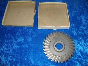 Niagara Horizontal Milling Cutter 6 Inch X 7 8 With 1 1 4 Arbor Hole