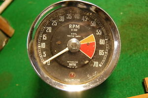 Early Mgb Smiths Rv1240 00 Electric Tachometer Great Upgrade For Mga 1