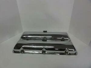 Vintage Mercury Edsel Lincoln Mel Factory Chrome Valve Covers 430 Fe Ford