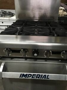 Used Commercial Gas Stove