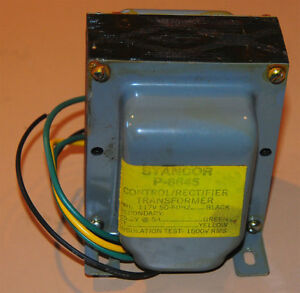Stancor P 8645 Transformer 117v Priamary 25 2v Ct 5 Amps Secondary