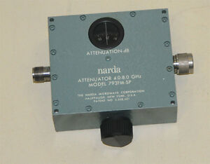 Narda 793fm sp 4 8 Ghz Variable Attenuator