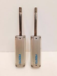 Lot Of 2 Festo Air pneumatic Standard Cylinder Free Shipping