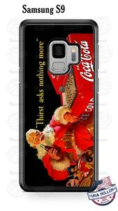 Christmas Santa Claus Coca-Cola Phone Case Cover Fits iPhone Samsung Google etc
