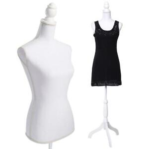 Female Mannequin Torso Dress Clothing Display W Tripod Stand Foam Style