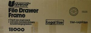 Universal Screw together Hanging Folder Frame Legal Size 23 26 77 Long 18000