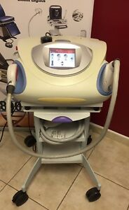 2005 Palomar Starlux 300 With Luxg Luxv Luxrs Handpieces And Cart