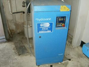 Hydrovane Hv07ace 10hp Air Compressor With Air Dryer F50hs