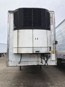 2004 Utility 53 Reefer Trailer W Carrier Ultima Xtc Unit 5309