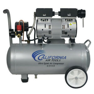 California Air Tools 5 5 Gal Aluminum Portable Electric Air Compressor Duty