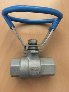 1 2 Stainless Steel Ball Valve 316 1000wog 2 Pieces In One Lot
