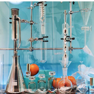 Professional Quality Glass Condensers For Chemistry Buffs