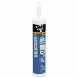 Dap 08641 12 Pack 9 8 Oz Window And Door Silicone Rubber Sealant Clear new