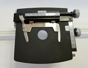 American Optical Series 2 Or 4 Microscope Graduated Mechanical Stage Excellent