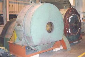 Westinghouse 2 Mw Dc Generator Ends
