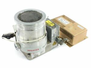 Pfeiffer Thm 261 Vacuum Turbo Pump W Tps 200 Controller Tc 600 Pm Z01 252