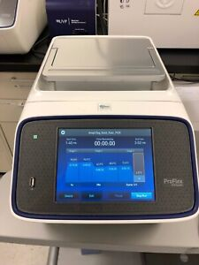 Abi Proflex Dual 384 Well Pcr Thermal Cycler year 2014 temp Probe Tested