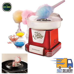 Electric Cotton Sugar Free Hard Candy Maker Commercial Retro Machine Nostalgia