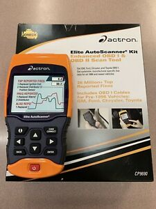 Actron Elite Autoscanner Kit Enhanced Obd I And Obd2 Scan Tool cp9690