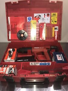 Hilti Dx a41 Powder Actuated Fastening Systems Nail Gun Kit With Case