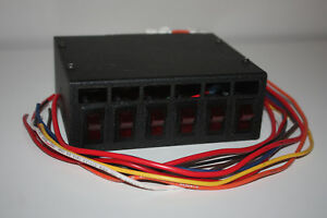 Whelen Pcc Power Control Center 6 Switch With Fuses Lightbar
