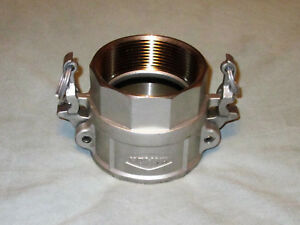 Boss lock Rd300bl Cam Groove Type D Coupler X Female Npt 316 Stainless Steel