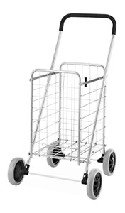 Utility Durable Folding Design Easy Storage Shopping Cart Collapsible Heavy Duty