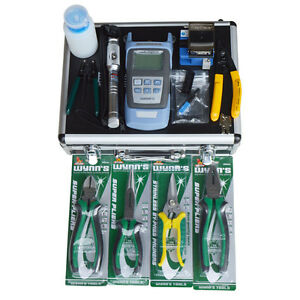 Brand New Ftth Tools Fiber Optic Fast Connector Professional Tool Set