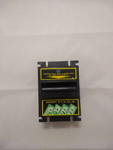Vm 010 Change Time Bill Acceptor Bl 700 Accepts New 1 s 5 s 10 s