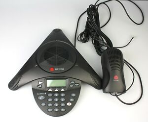 Polycom Soundstation 2 Expandable Conference Phone W Wall Module