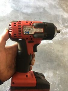 Used Snap On Ct8810a 3 8 18v Impact Wrench Plus Battery