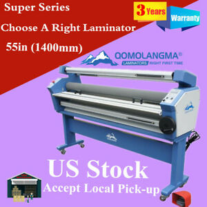 Us Stock 110v Qomolangma 63in Wide Format Cold Laminator And Mounting Machine