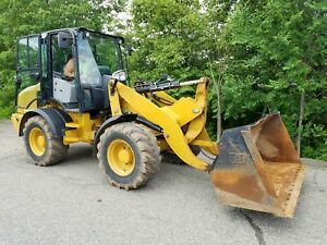 2014 Caterpillar Cat 908h Compact Wheel Loader W bucket Folks 1950 Hours