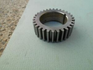 10 Inch Logan Lathe Spindle Gear P n La 665 1 From A Model 821