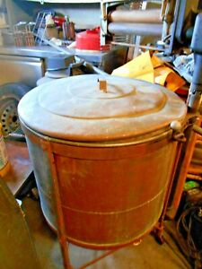 Antique Washing Machine Easy Brand Vacuum Electric Copper Wringer Washer