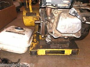 Used Gas Motor 4hp Base For D55250 T1 Dewalt Picture Is Of Entire Tool