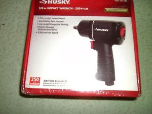 Husky 38 Drive Air Impact Wrench FORWARD REVERSE