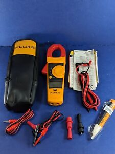 New Fluke 335 Trms Clamp Meter Soft Case Accessories