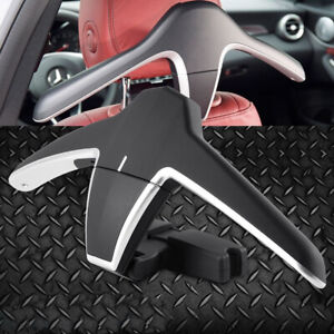 2x Universal Car Vehicle Hanger Holder Hook For Clothes Coat Suit Bags Grocery