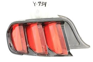 Used Oem Tail Light Ford Mustang 15 17 Taillight Lamp Taillamp Tested Chip Edge